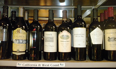 California West Coast Wine